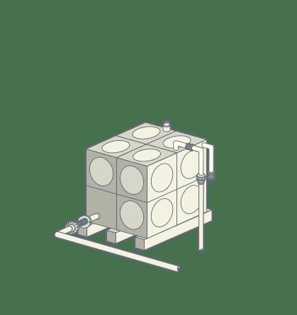 Water Receiver Tank